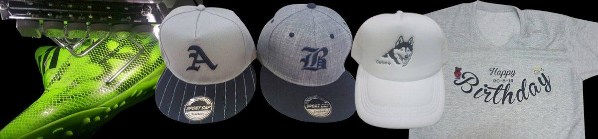 รับปักเสื้อ รับปักหมวก รับปักรองเท้า ปักกระเป๋า รับสกรีนเสื้อ MotherPin.com